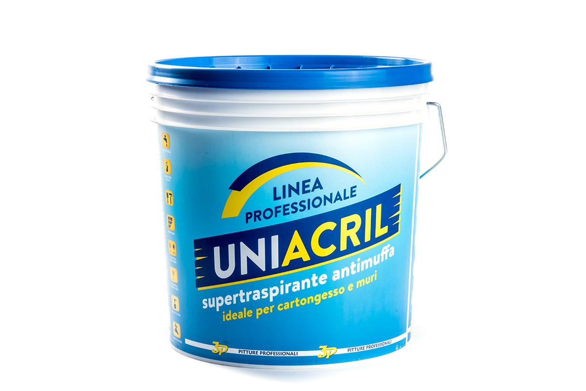 Pitture 3p Uniacril traspirante