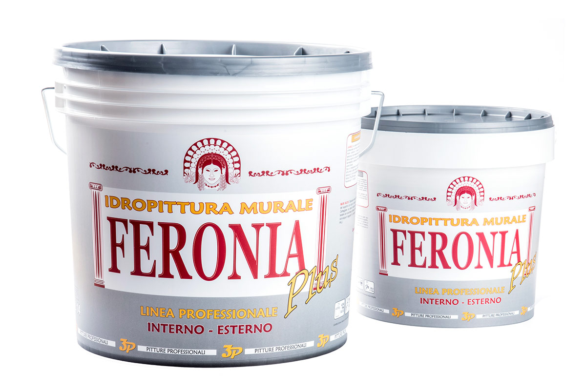 Pitture professionali 3p Quarzo Feronia all