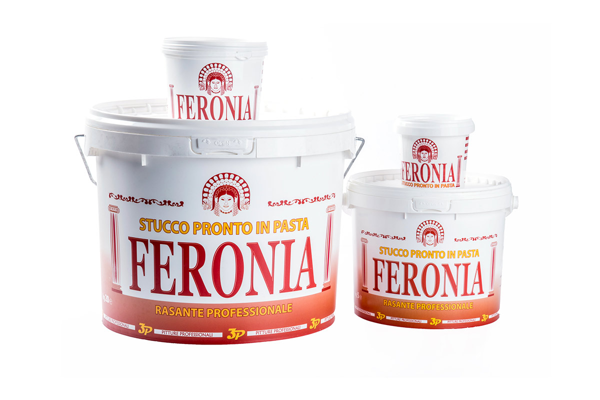 Pitture professionali 3p Stucco in pasta Feronia
