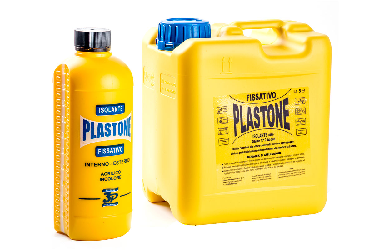 Pitture professionali 3p fissativo plastone all