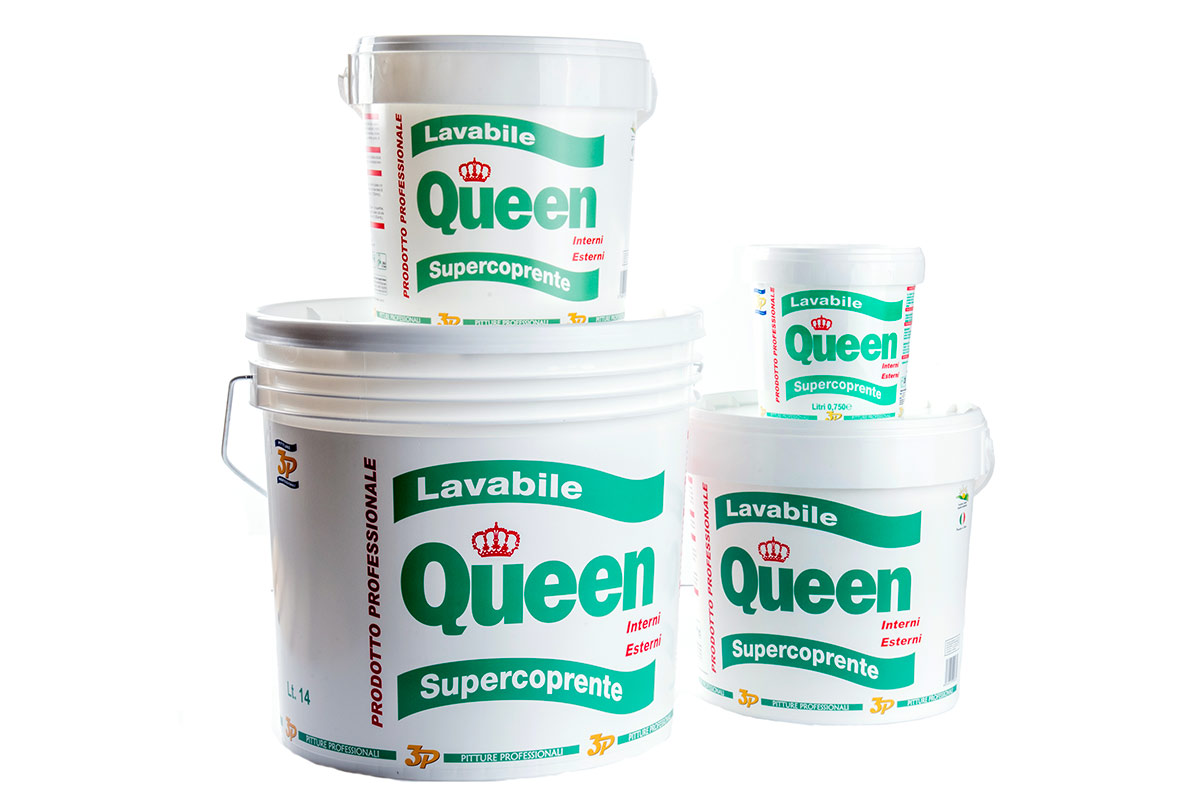 Pitture professionali 3p lavabile queen all