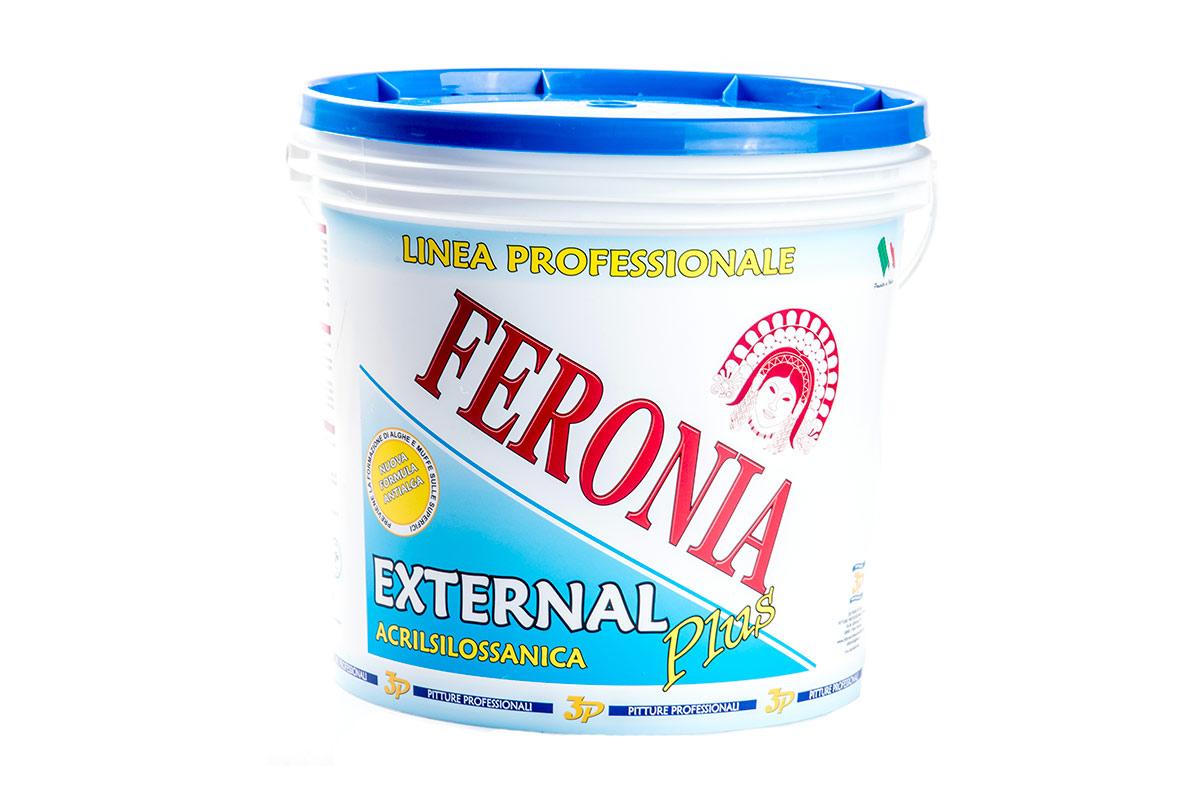 Pitture professionali 3p Feronia Acrilsilossanica 1
