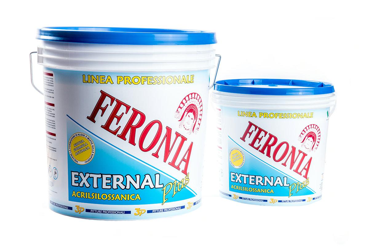 Pitture professionali 3p Feronia Acrilsilossanica all