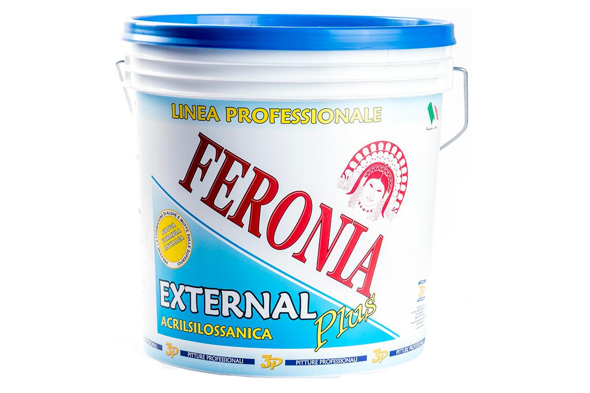 Pitture professionali 3p Feronia Acrilsilossanica