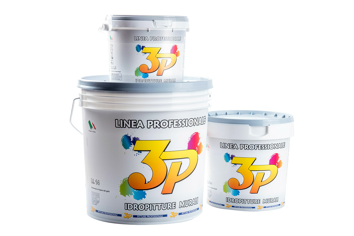 Pitture professionali 3p tempera